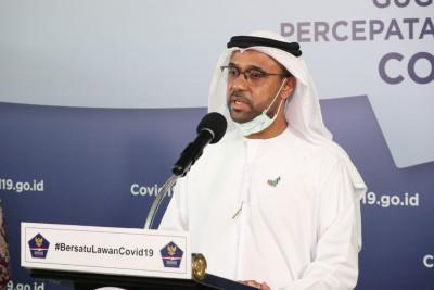 Thumbnail  Pemerintah Uni Emirat Arab Serahkan Bantuan Peralatan Medis untuk Tangani COVID-19 di Tanah Air